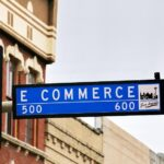 Photo of East Commerce Street in San Antonio written as E-Commerce. Used in a blog post of Great ASP website.